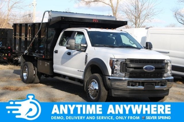 2019 Ford Super Duty F 550 Drw Xl Silver Spring Md Bethesda Rockville Germantown Maryland 1fd0w5ht4keg80397