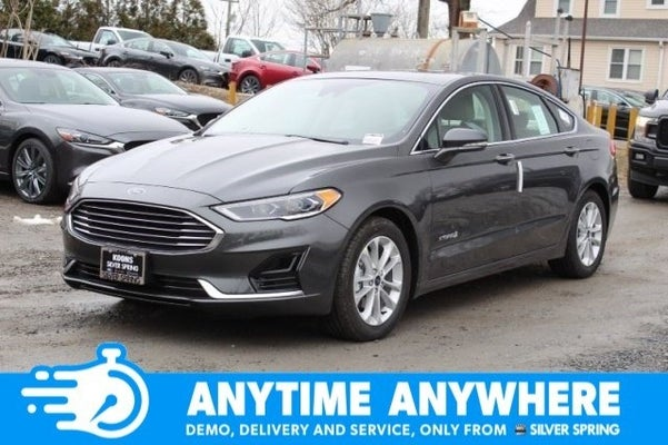 2019 Ford Fusion Hybrid Sel Silver Spring Md Bethesda Rockville Germantown Maryland 3fa6p0mu8kr162633