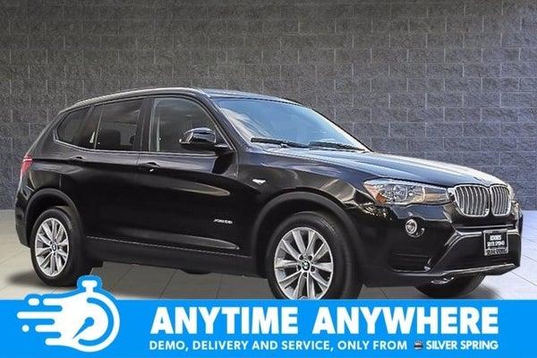 BMW Silver Spring >> 2017 Bmw X3 Xdrive28i